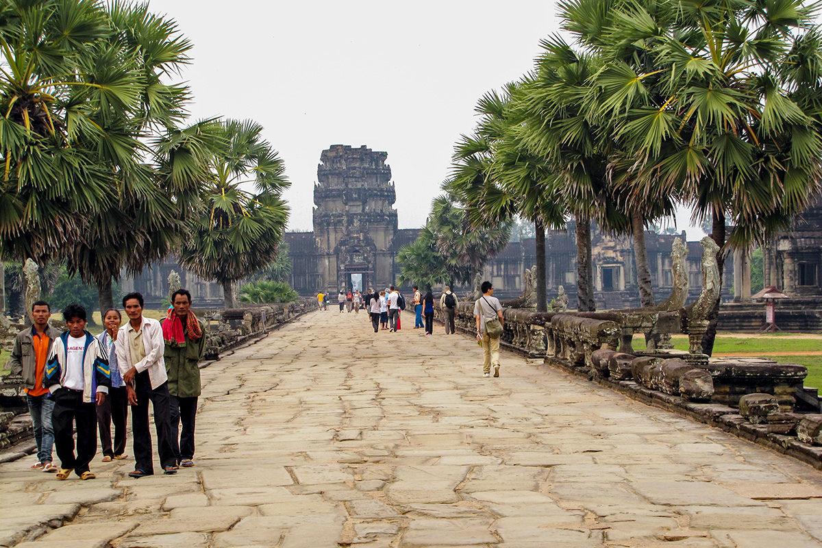 Angkor Wat Temples in Cambodia