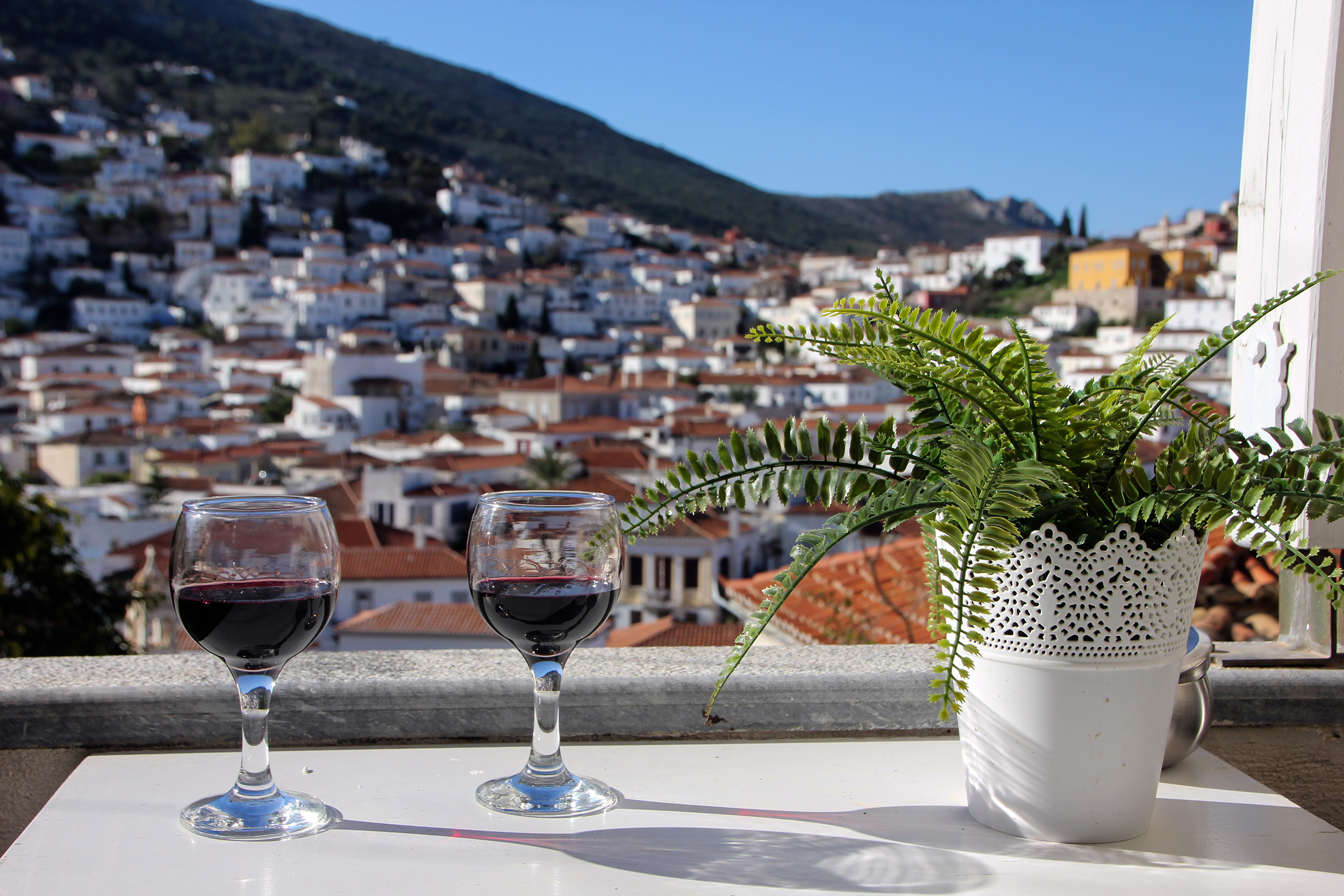 Romantic Holiday in Greece