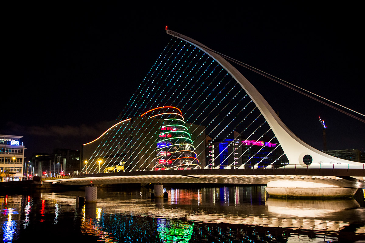 Docklands in Dublin