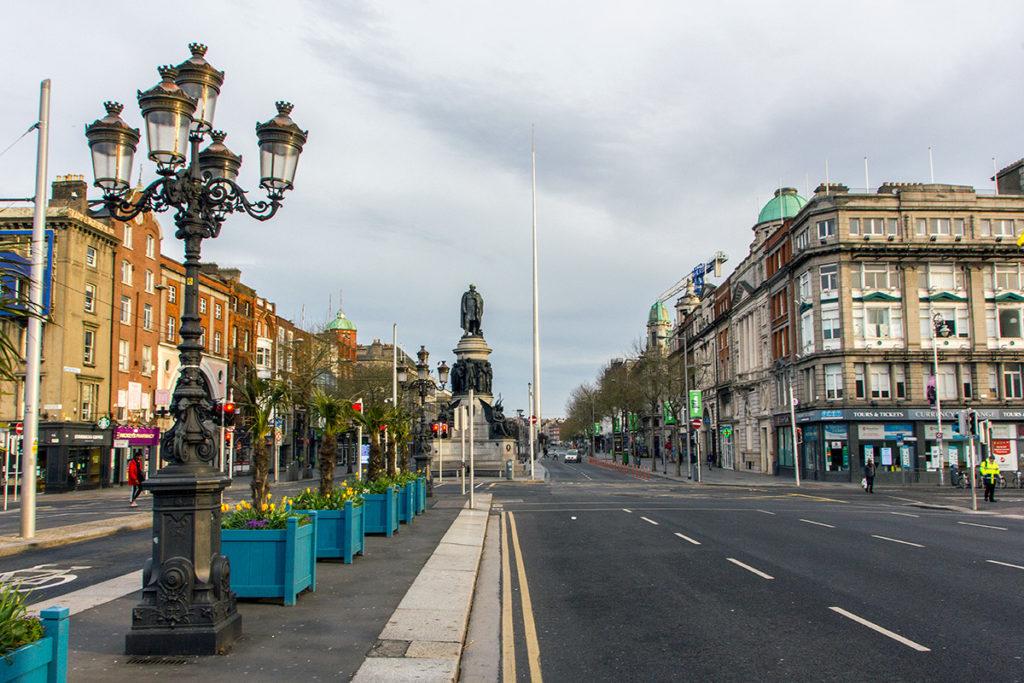 O'Connell Street in Dublin