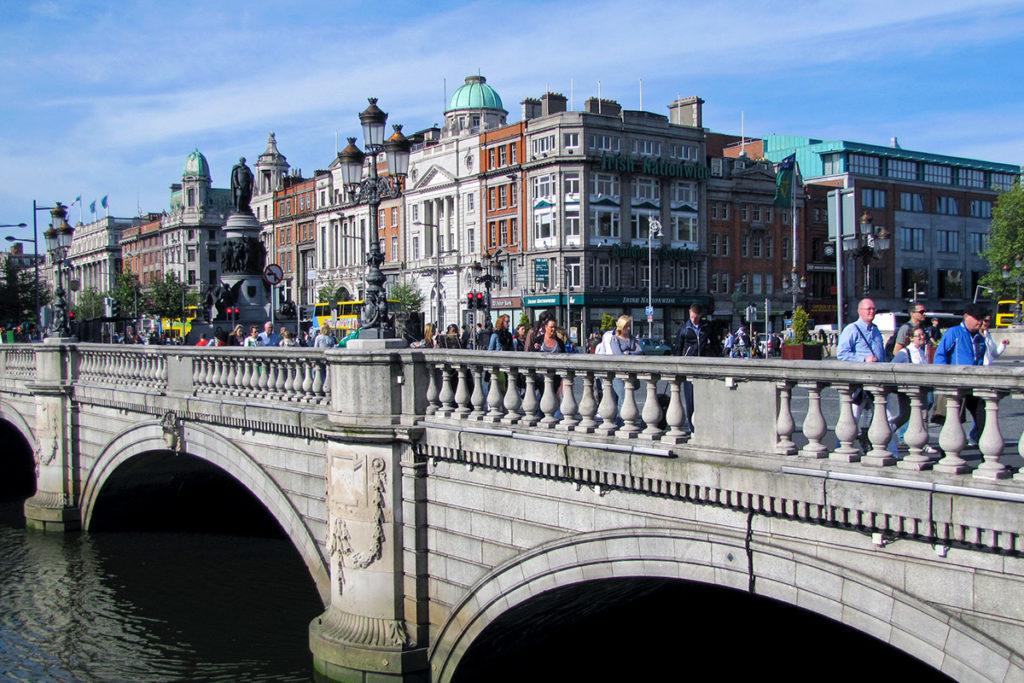 O'Connell Bridge in Dublin