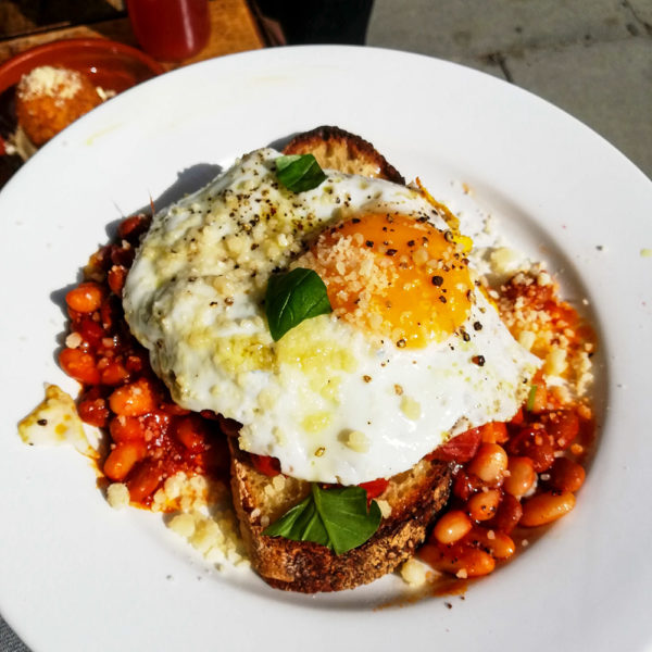 The Fumbally's version of Beans on Toast