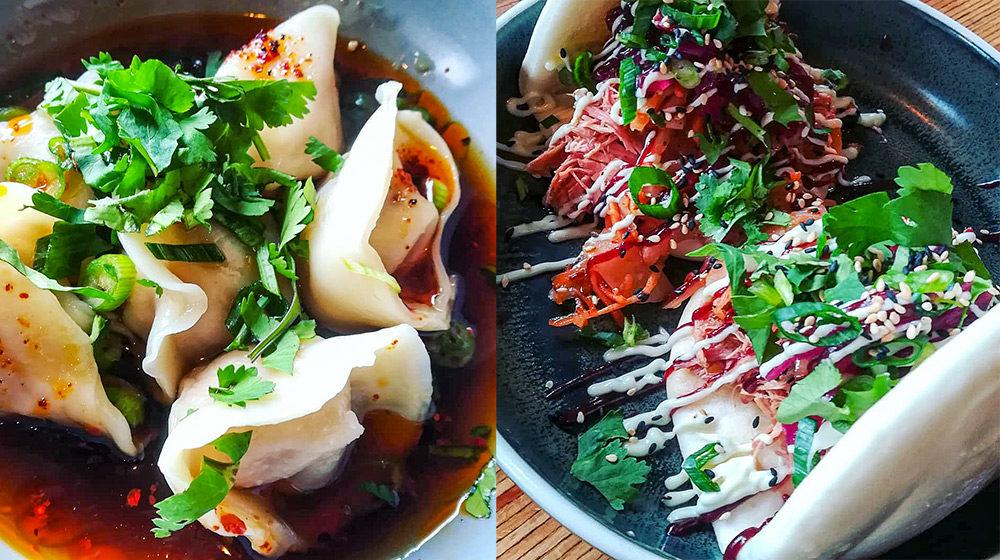 Dumplings & Baos in BOWLS