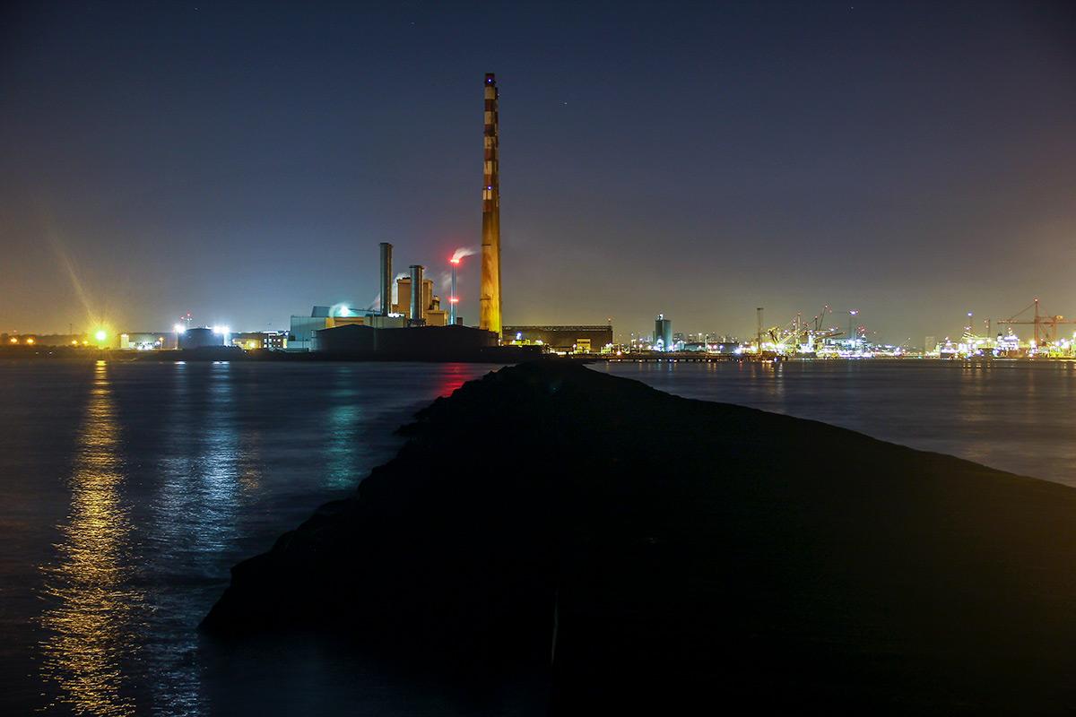 Poolbeg Lighthouse Walk at Night