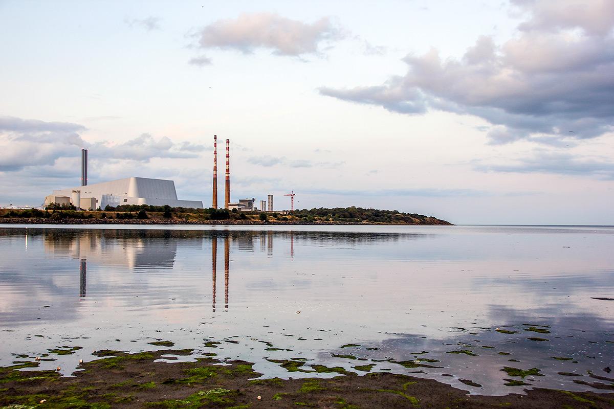 Sandymount Beach in Dublin