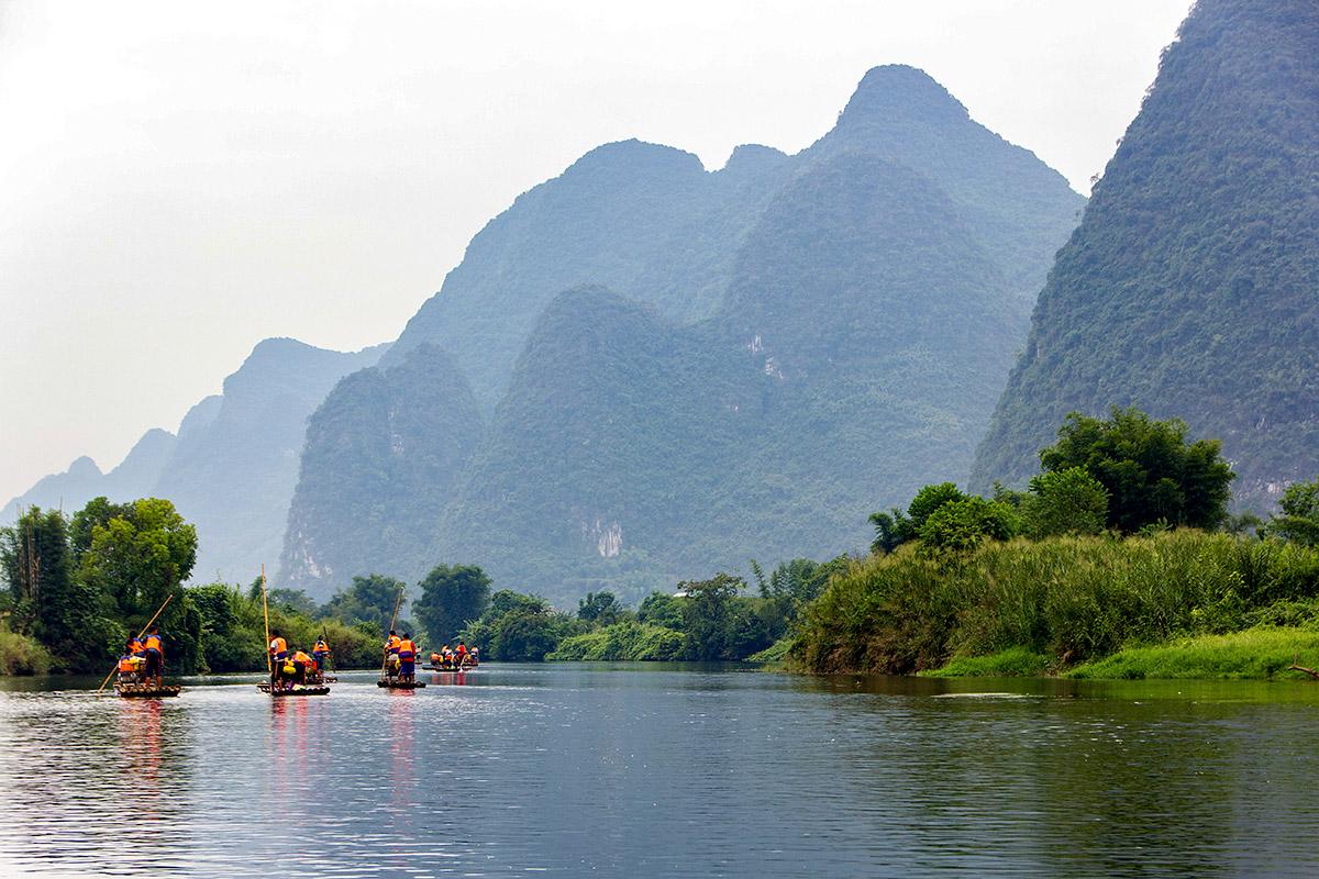 Bamboo Boats Rafting