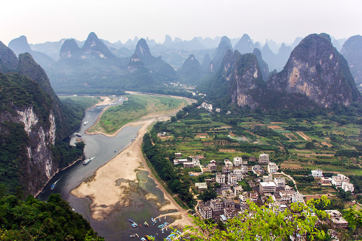 Karst Mountains in Guilin