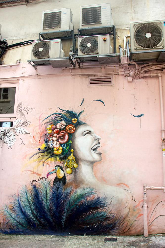Street Art in Hongkong