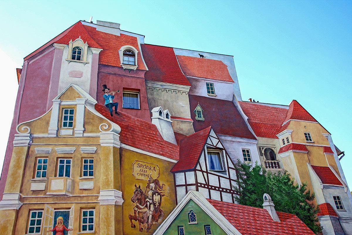 """""""Tale Mural"""" in Srodka, Poznan"""