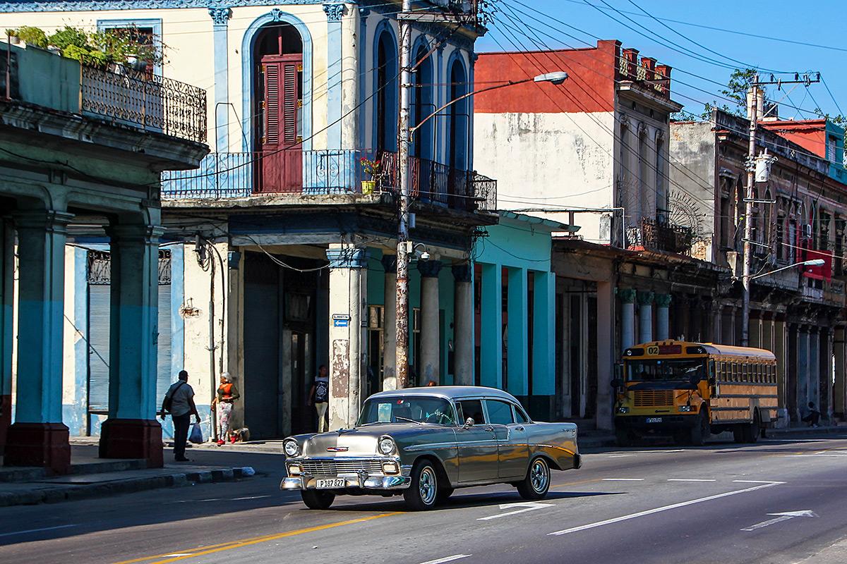 Typical car in Havana