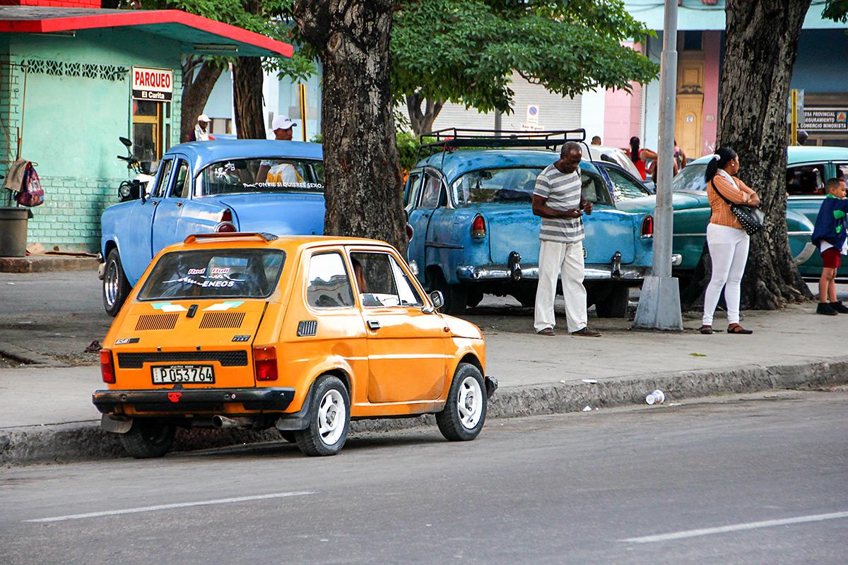 Vintage car does not always mean a caddilac!