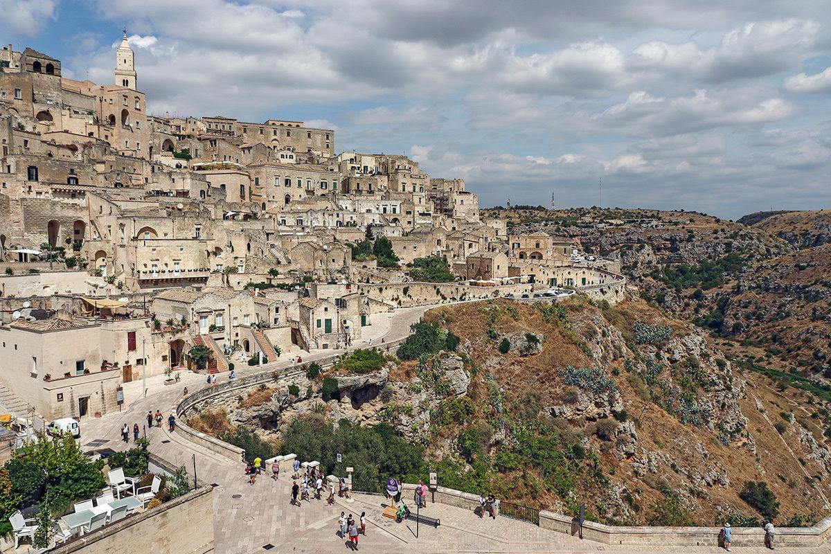 Beautiful Matera in Basilicata Province